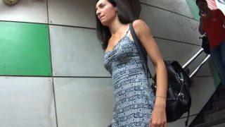 Hot Girl With Thong Upskirt