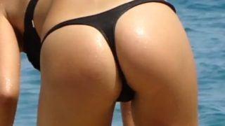 Sexy Russian Girl Candid Thong